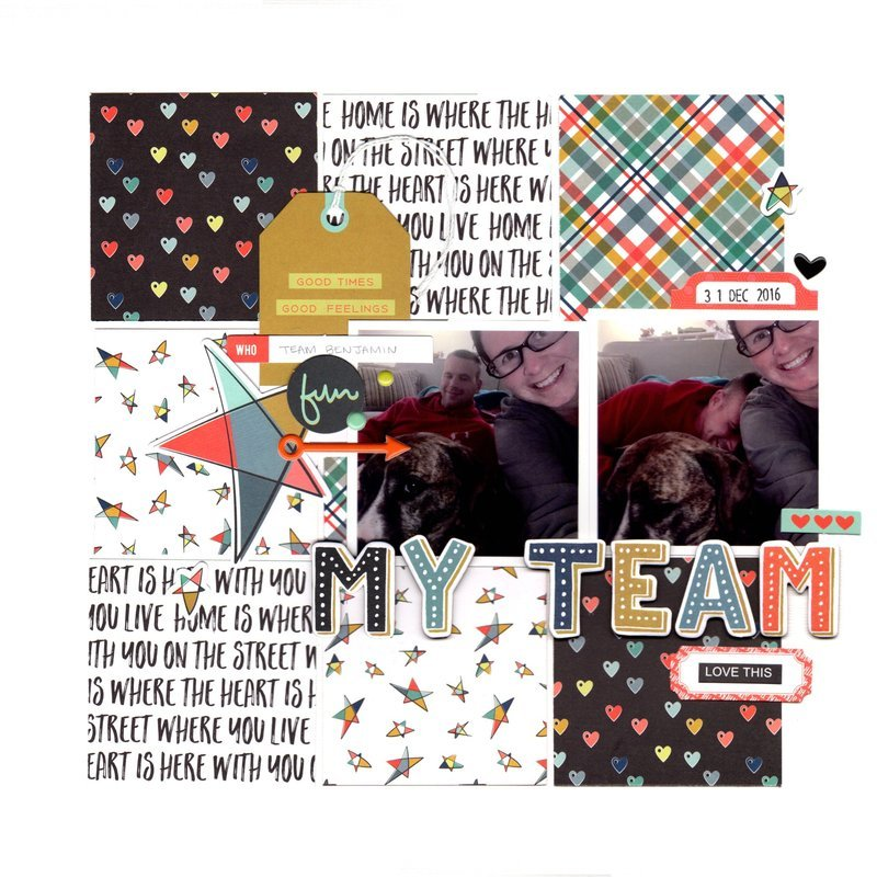my team (paper issues) || happyGRL
