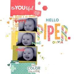 hello piper olivia (jillibean soup) || happyGRL