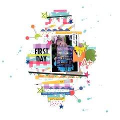 first day (bellla blvd) || happyGRL