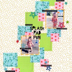 splash pad fun (bella blvd) || happyGRL