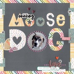 moose dog (paper issues) || happyGRL