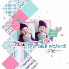 cold weather cutie (paper issues) || happyGRL