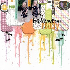 halloween ready (paper issues) || happyGRL
