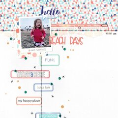 beach days (paper issues) || happyGRL