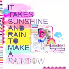 rainbow (bella blvd) || happyGRL