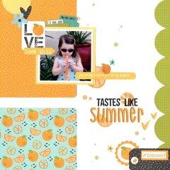 tastes like summer (paper issues) || happyGRL
