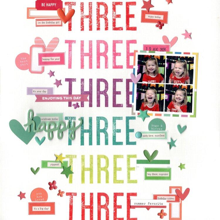 three (paper issues) || happyGRL