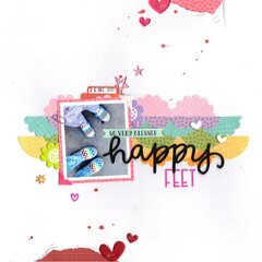 happy feet (paper issues)    happyGRL
