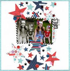 all american girls (bella Blvd) || HappyGRL