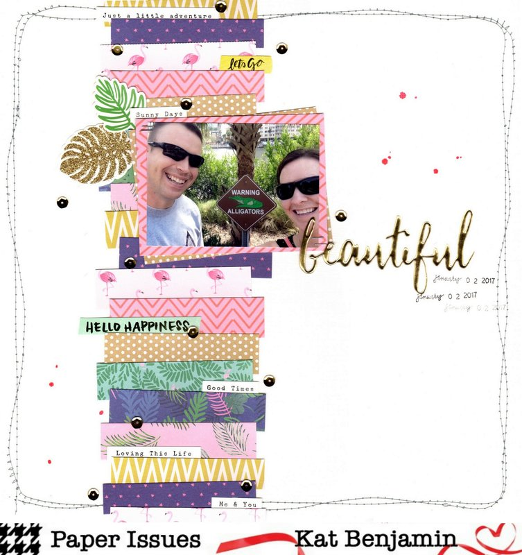beautiful (paper issues) || happyGRL