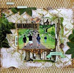 Life is Full of Wonderful Memories - Kaisercraft DT