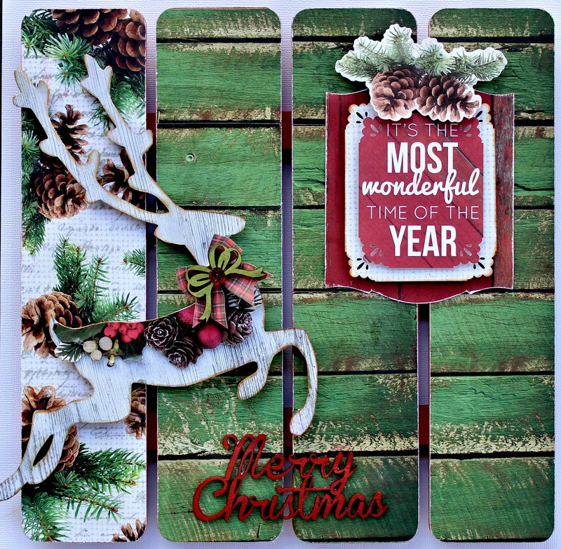 Kaisercraft Christmas Wall Art