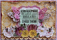 Chase Your Dreams Card - Kaisercraft DT