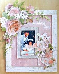Altered Wedding Frame