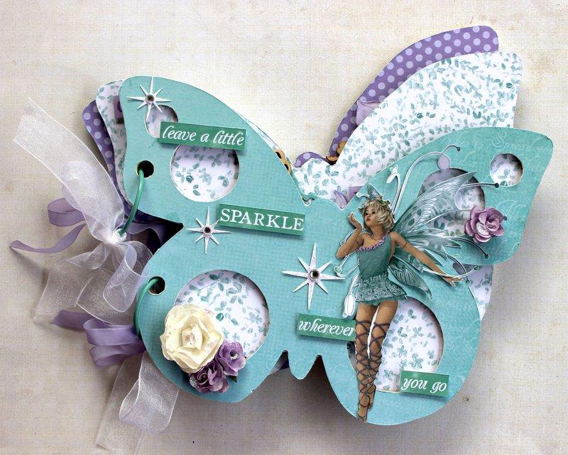 Butterfly Album - Kaisercraft Fairy Dust