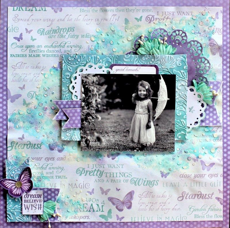 Dream Wish Believe - Kaisercraft Fairy Dust