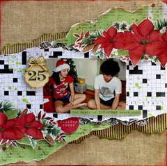 Holiday Cheer - Kaisercraft Home For Christmas
