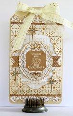 "Christmas Tag - Kaisercraft ""Holy Night"""