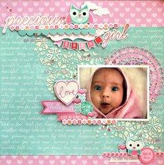 Precious Girl - Kaisercraft Little One Collection