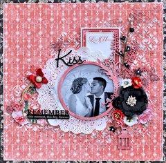 Kiss - Graphic 45 Mon Amour