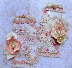 Romantic Shabby Chic Tag Set - Manor House Creations