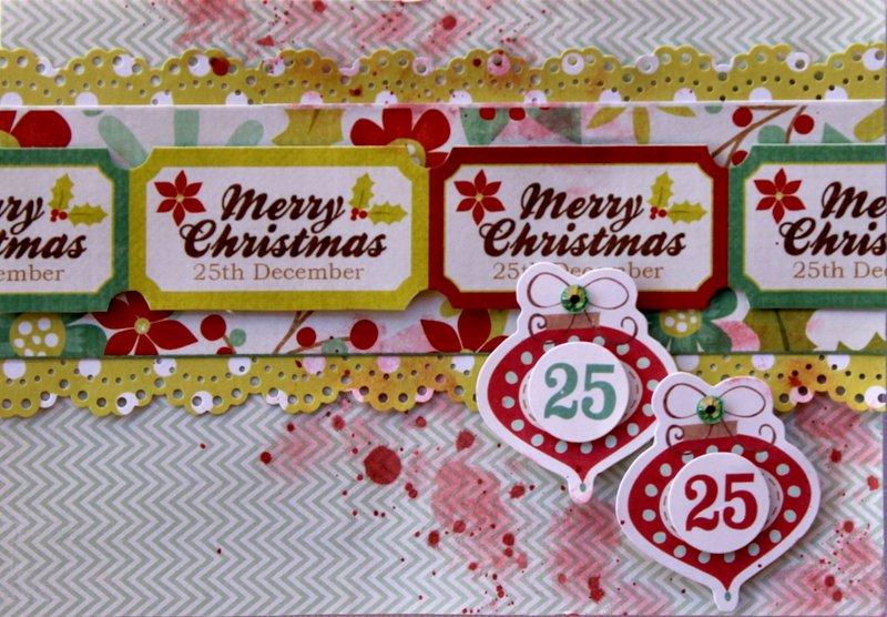 25th December Card - Kaisercraft