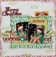 Merry Christmas - Kaisercraft DT
