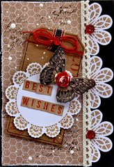 Best Wishes Card - Kaisercraft