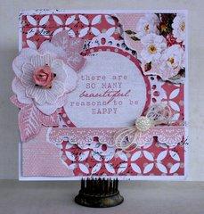 Kaisercraft - Oh So Lovely - Card