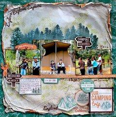 Our Camping Trip - Kaisercraft