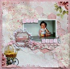 Precious Little Baby Girl - Kaisercraft DT