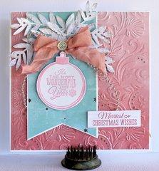 Christmas Card - Kaisercraft Silver Bells