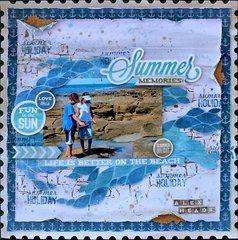 Kaisercraft DT - Summer Memories - Sandy Toes Collection