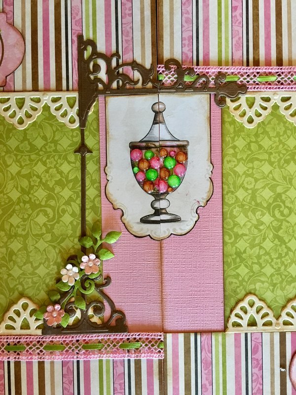 Shaker 12x12 Layout with Bo Bunny Sweet Moments