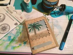 Palm Tree Shaker Card with the Fuse