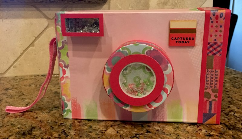 Shaker Camara Box with Mini Album