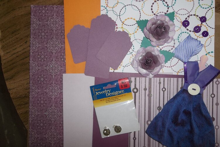 May kit swap - Purple