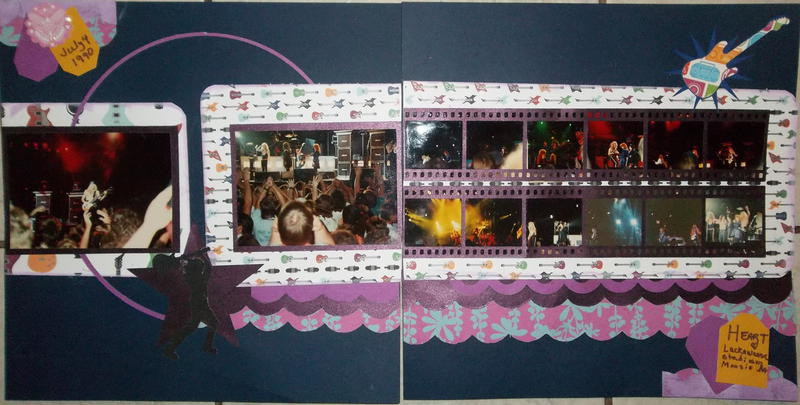 *Heart concert 1990/October Ugly paper lo