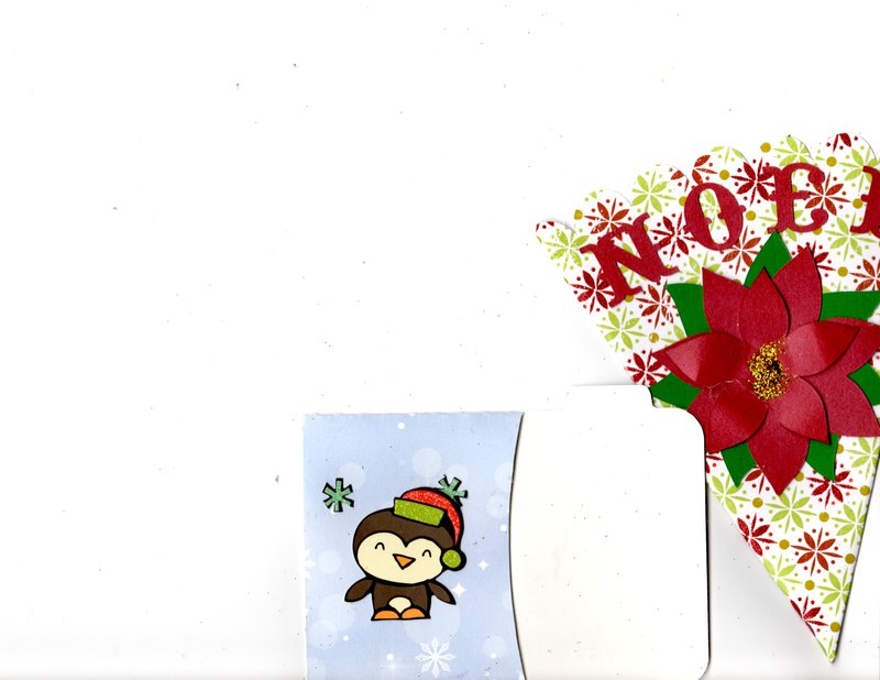 Secret Santa swap: Christmas tags and pockets