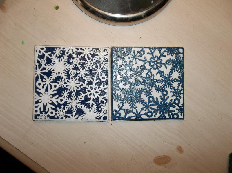 Winter themed tile swap