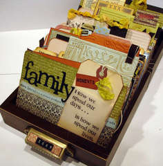 Family Moments Library Tray