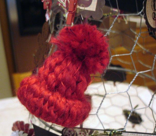 Advent Calendar Chicken Wire Tree