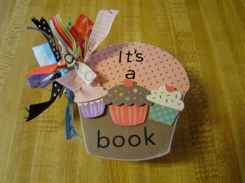 It's a cupcake book, cover