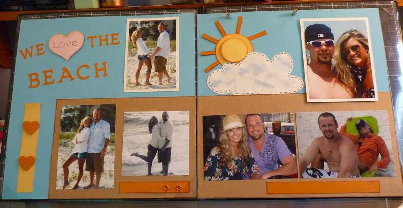 """We Love the Beach"""