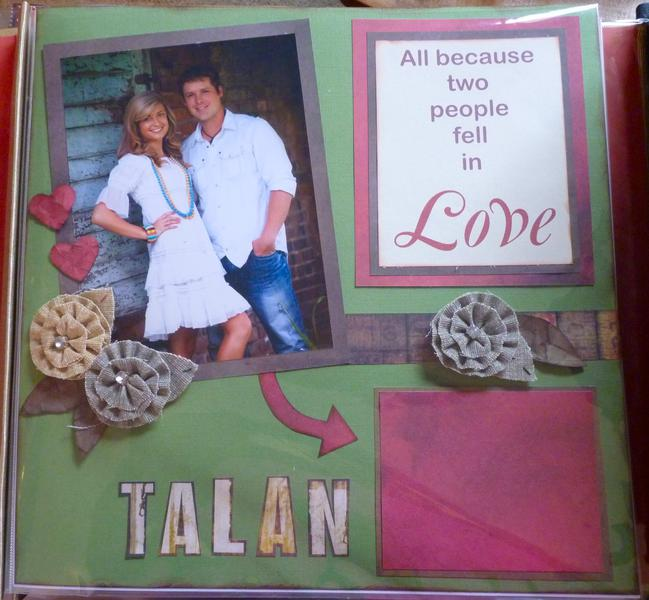 1st page of Baby Book for Talan