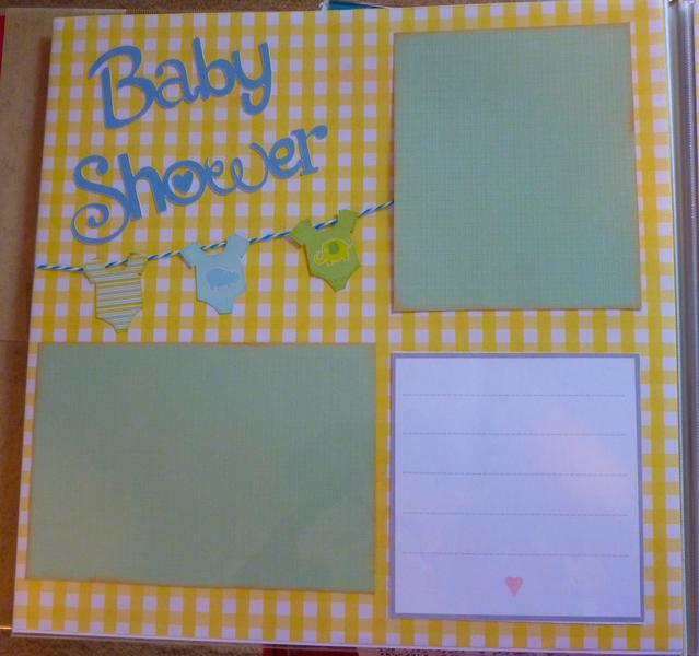 baby book--Baby Shower