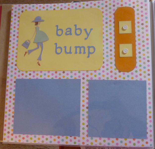 Baby Book--Baby Bump
