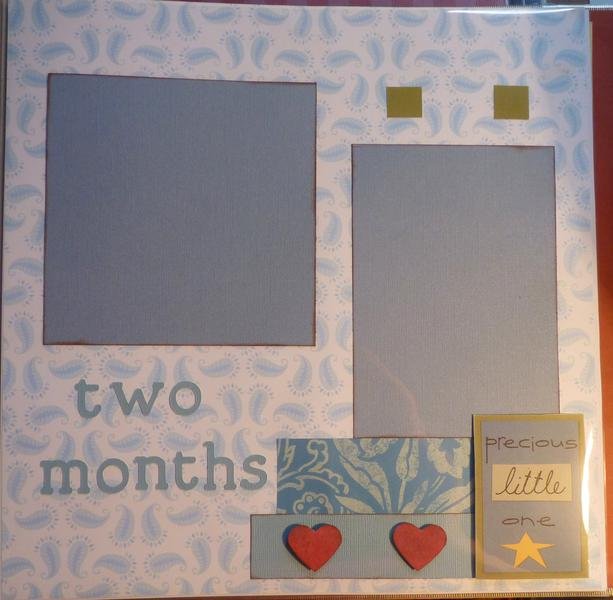 Baby Book--two months