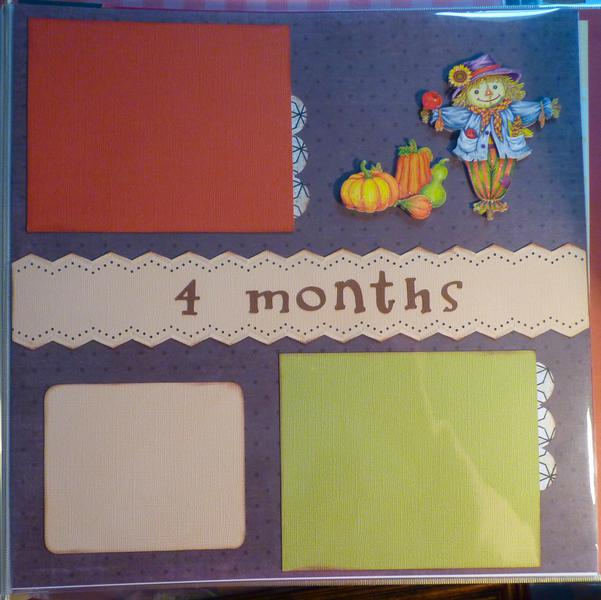 Baby Book--4th month--Nov
