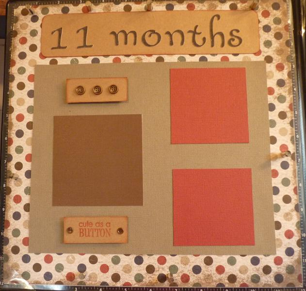 Baby Book--11th Month